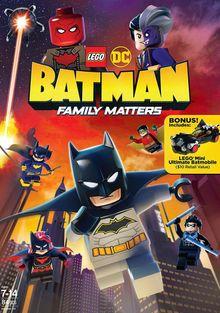 LEGO DC: Бэтмен - дела семейные, 2019
