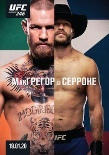 UFC 246: МакГрегор vs. Серроне, 2020
