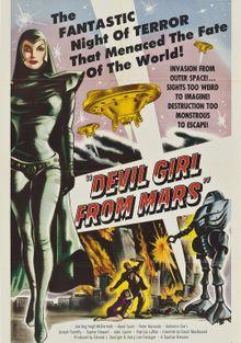Дьяволица с Марса, 1954
