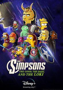 Симпроны: Добро, Барт и Локи, 2021