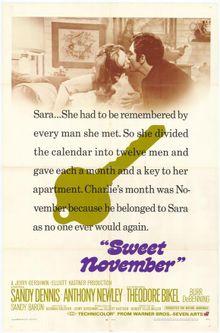Сладкий ноябрь, 1968