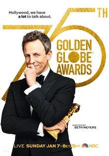 «Золотой глобус» (75-я церемония вручения премии), 2018