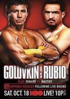 Бокс: Геннадий Головкин - Марко Антонио Рубио