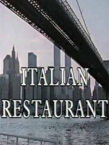 Итальянский ресторан, 1994