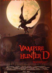 Охотник на вампиров Ди, 1985